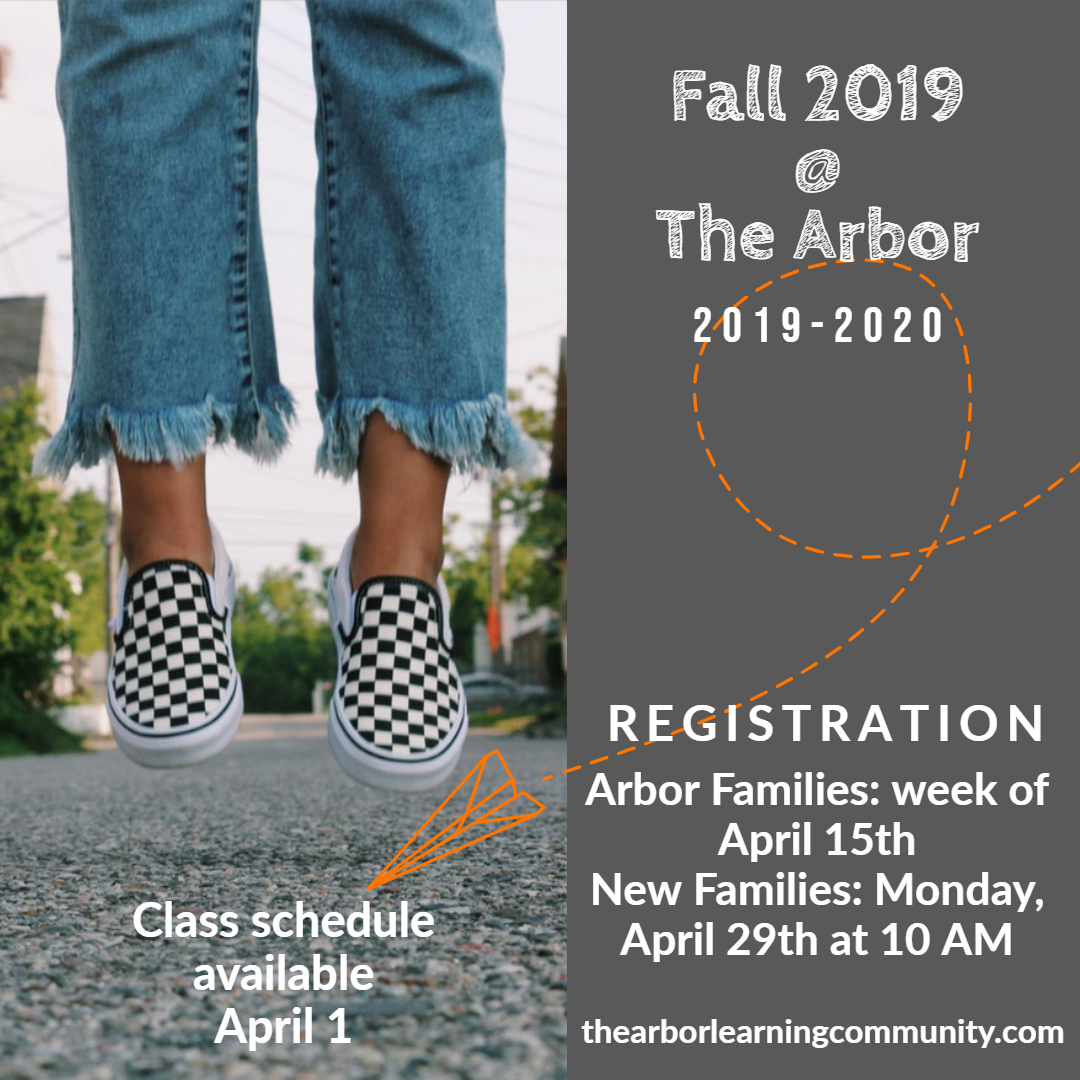 fall schedule available april 1