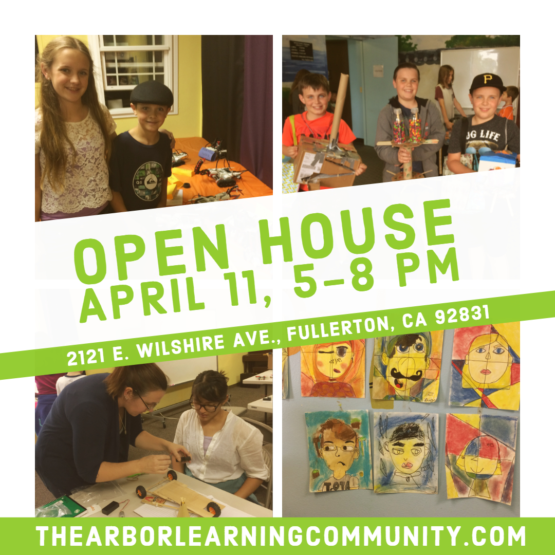 Open House, April 11 from 5-8PM