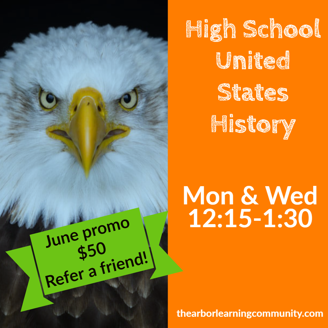 High School United States History June referral promo